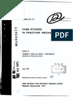 Case Studies in Fracture Mechanics