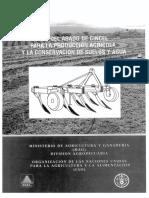 Arado de Cincel por la FAO