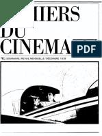 295 Cahiers du Cinema
