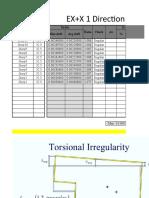 Torsion Irregularity Check