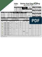 Trading Sheets for Monday, November 15, 2010
