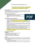 Marco Regulatorio Para Socializaciones de Proyectos de Hidrocarburos