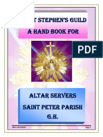 Altar Server Handbook ~1st Edition 2019 by N. Brandon. PDF