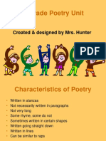 5th grade Poetry Unit.ppt