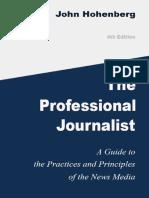 The Professional Journalist - John Hohenberg