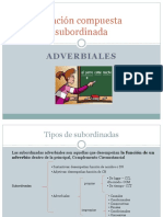 Subordinadas Adverbiales (1) (2)