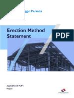 Steel Methode Statement