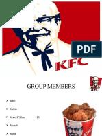 Kfc Final Presentation