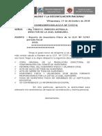 Modelo de Documentos a Presentar Inventario 2018 72707 Villapampa