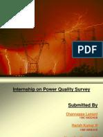 Power Quality Survey Internship