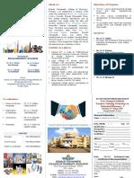 Flyer Industrial Pharmacy - I Workshop (1)