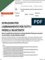 Auricolari  BLuetooth Plantronics