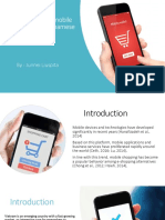 Factors Affecting Mobile Shopping