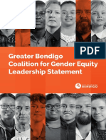 Gender Equity Statement