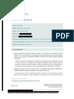 Resolución del Consejo de Transparencia sobre el informe que contempla la posibilidad de enterrar los restos de Franco en la Almudena