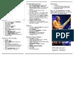 Afro Celt Revision sheet