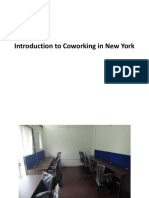 Introduction to Coworking in New York