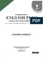 teachers mannual english full marks