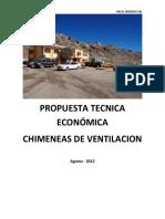 Propuesta Chimenea Alimak Mina-Porco