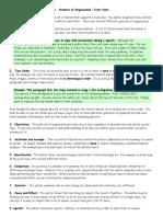 Patterns of Organization Hints