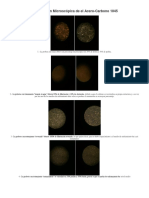 Observación Microscópica de El Acero