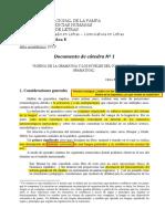 Documento de Cátedra Nº 1 (2019)