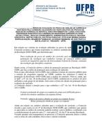Nota UFPR