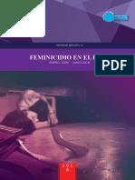 Feminicidio en El Peru 2009-2018