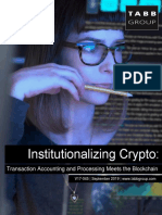 V17-045 Institutionalizing Crypto
