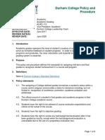 academic-grading criteria