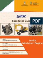 junior mechanic engine