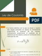 1.1.4 Ley de Coulomb 1.1.5 Campo Eléctrico