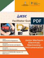 FG IESQ1106 Junior Mechanic Electrical Electronics Instrumentation 30-03-2018