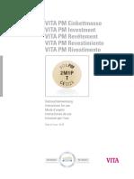 VITA Mp 6000 Instrucciones Revestimientos