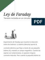 Ley de Faraday - Wikipedia, La Enciclopedia Libre
