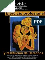 Revista colegio de psicólogos distrito XI