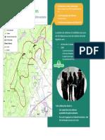 La carte d'implantation des éoliennes de la Basse-Joux