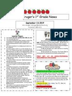sept 13 newsletter