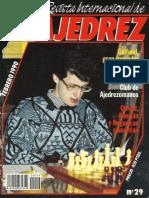 Revista Internacional de Ajedrez 29