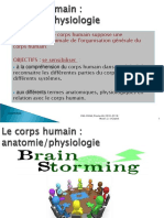 Cours as Présentation Du Corps Humain