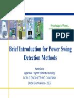 13b.power Swing Detection1-2007