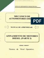 Manual Afinamiento Motores Diesel Sistema Combustibe Bomba Alimentacion Inyectores Hidraulicos Senati Compressed 1