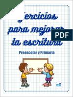 12 Fichas de ejercicios para mejorar la escritura preescolar y primaria-me (1).pdf