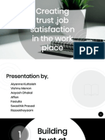 Trust and Job Satisfaction Ppt