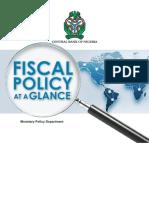 Fiscal Policy Nigeria