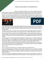 EL HIJO DE RAÚL MORODO COBRÓ 3,8 MILLONES DE €, DE PETRÓLEOS DE VENEZUELA