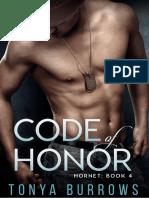 Tonya Burrows - Serie Hornet 04 - Code of Honor
