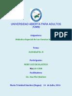 Tarea 03 Didactica Especial de Las Ciencias Sociales NURY LUZ