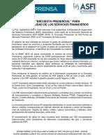 N 34 Nota Encuesta Presencial ENSF2019