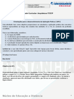 AP1 - Arquitetura TCP_IP